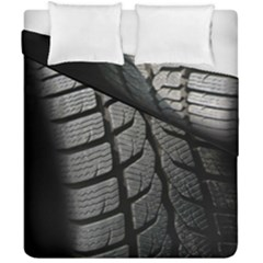 Auto Black Black And White Car Duvet Cover Double Side (california King Size) by Nexatart