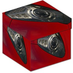 Auto Red Fast Sport Storage Stool 12   by Nexatart