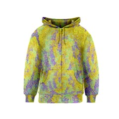 Backdrop Background Abstract Kids  Zipper Hoodie