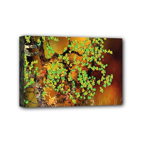 Backdrop Background Tree Abstract Mini Canvas 6  x 4