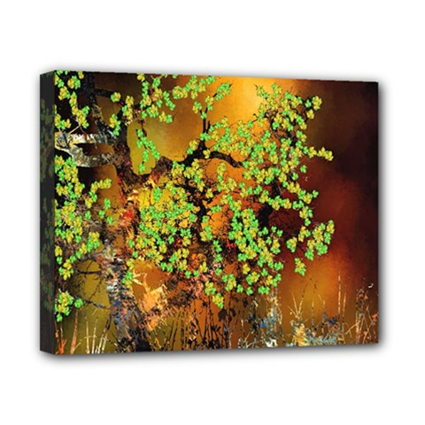 Backdrop Background Tree Abstract Canvas 10  x 8