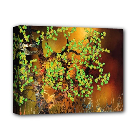 Backdrop Background Tree Abstract Deluxe Canvas 14  x 11
