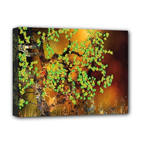 Backdrop Background Tree Abstract Deluxe Canvas 16  x 12