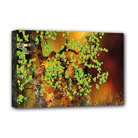 Backdrop Background Tree Abstract Deluxe Canvas 18  x 12