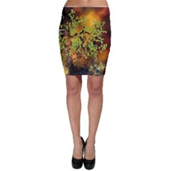 Backdrop Background Tree Abstract Bodycon Skirt