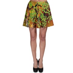 Backdrop Background Tree Abstract Skater Skirt