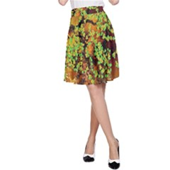 Backdrop Background Tree Abstract A-Line Skirt