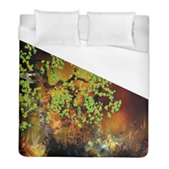 Backdrop Background Tree Abstract Duvet Cover (Full/ Double Size)