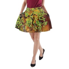 Backdrop Background Tree Abstract A-Line Pocket Skirt