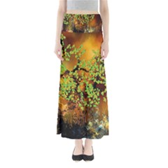 Backdrop Background Tree Abstract Maxi Skirts