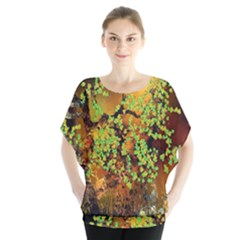 Backdrop Background Tree Abstract Blouse