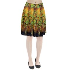 Backdrop Background Tree Abstract Pleated Skirt