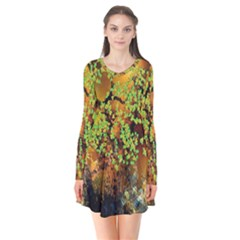 Backdrop Background Tree Abstract Flare Dress