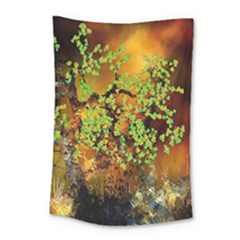 Backdrop Background Tree Abstract Small Tapestry