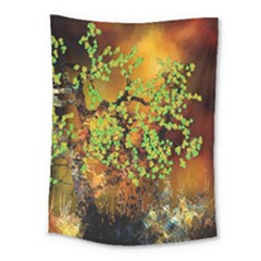 Backdrop Background Tree Abstract Medium Tapestry