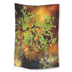 Backdrop Background Tree Abstract Large Tapestry