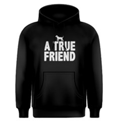 A true friend - Men s Pullover Hoodie by FunnySaying