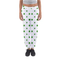 Saint Patrick Motif Pattern Women s Jogger Sweatpants by dflcprintsclothing
