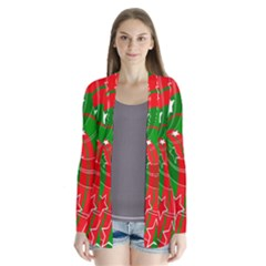Background Abstract Christmas Cardigans