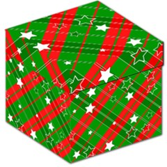 Background Abstract Christmas Storage Stool 12   by Nexatart