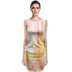 Background Modern Computer Design Classic Sleeveless Midi Dress