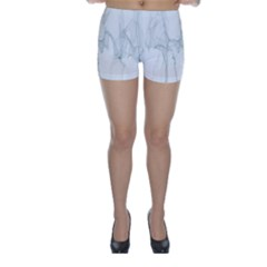 Background Modern Computer Design Skinny Shorts