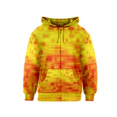 Background Image Abstract Design Kids  Zipper Hoodie