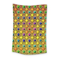 Background Tile Kaleidoscope Small Tapestry by Nexatart