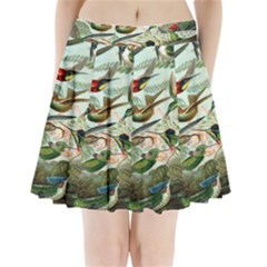 Beautiful Bird Pleated Mini Skirt by Nexatart