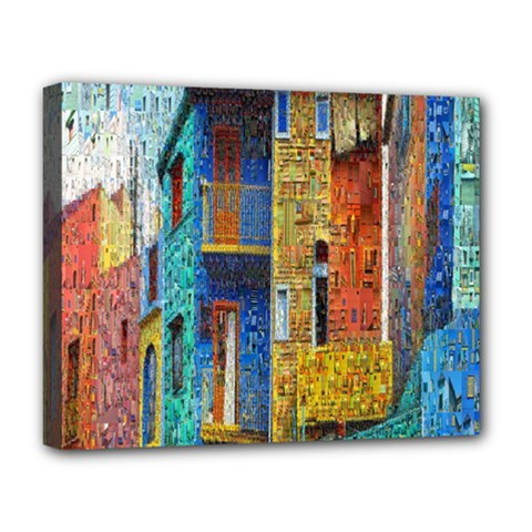 Buenos Aires Travel Deluxe Canvas 20  X 16