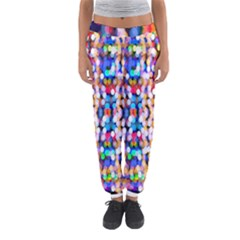Bokeh Abstract Background Blur Women s Jogger Sweatpants