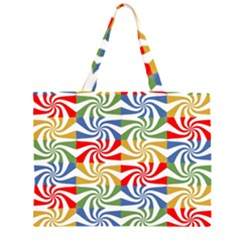 Candy Pattern  Large Tote Bag by Nexatart