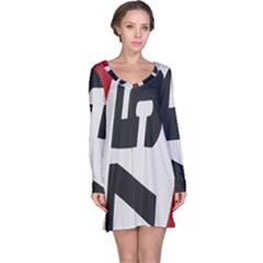 Car Auto Speed Vehicle Automobile Long Sleeve Nightdress
