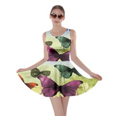 Butterfly Painting Art Graphic Skater Dress