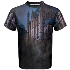 Castle Mystical Mood Moonlight Men s Cotton Tee