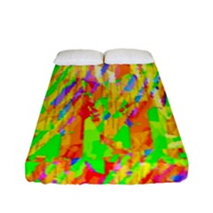 Cheerful Phantasmagoric Pattern Fitted Sheet (full/ Double Size)