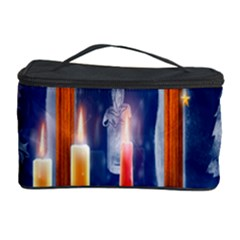 Christmas Lighting Candles Cosmetic Storage Case