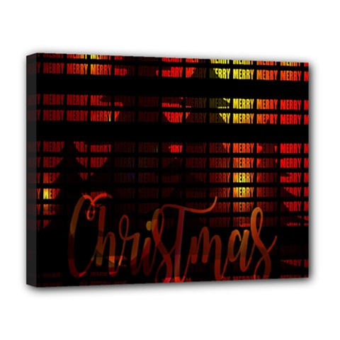 Christmas Advent Gloss Sparkle Canvas 14  X 11  by Nexatart