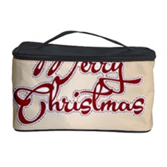 Christmas Xmas Patterns Pattern Cosmetic Storage Case by Nexatart