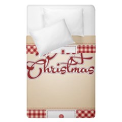 Christmas Xmas Patterns Pattern Duvet Cover Double Side (single Size)