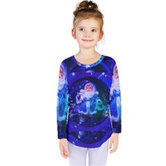 Christmas Nicholas Ball Kids  Long Sleeve Tee by Nexatart