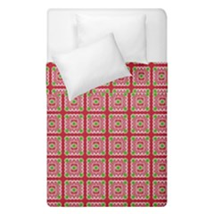 Christmas Paper Wrapping Pattern Duvet Cover Double Side (single Size) by Nexatart