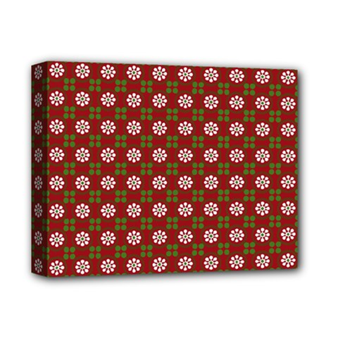 Christmas Paper Wrapping Pattern Deluxe Canvas 14  X 11