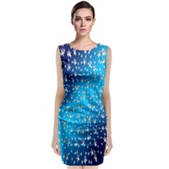 Christmas Star Light Advent Classic Sleeveless Midi Dress