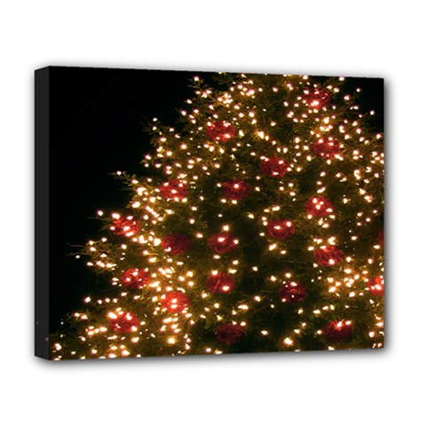 Christmas Tree Deluxe Canvas 20  X 16