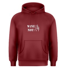 Red Wine Not Men s Pullover Hoodie