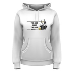 White Two Beer Or Not Two Beer  Women s Pullover Hoodie