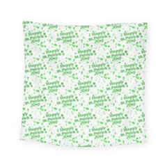 Saint Patrick Motif Pattern Square Tapestry (Small)