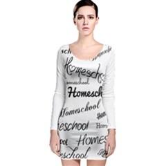 Homeschool Long Sleeve Bodycon Dress