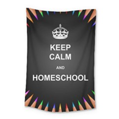 Keepcalmhomeschool Small Tapestry by athenastemple